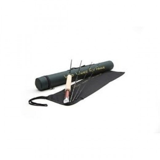 "Wild Water Fly Fishing ""Wild Country"" 3 Weight, 5 Foot 6 Inches, 4 Piece Freshwater Fishing Rod"