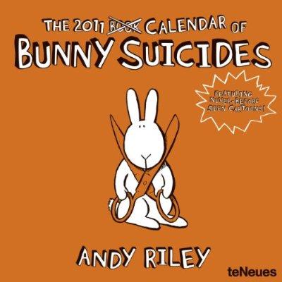 Bunny Suicides Calendar 2011
