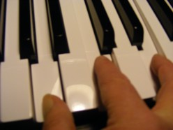 Keyboard - minor chords