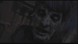 A zombie rises from the dead in Hammer's The Plague of the Zombies