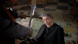 Christopher Lee comes to a bad end as Dracula