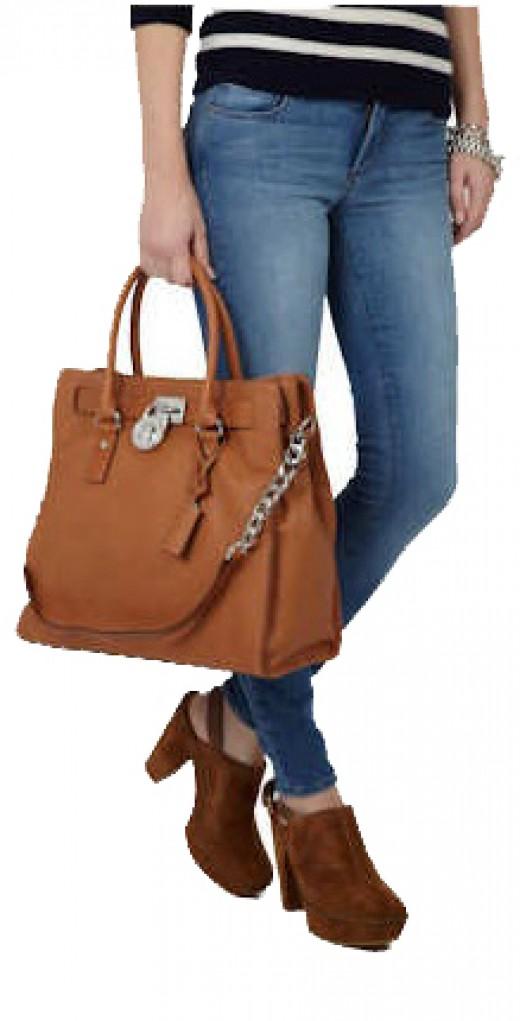 Michael by Michael Kors Luxury Hamilton  Handbag Tote