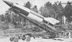The Nazis V2 rocket of WW2