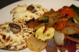 Mediterranean vegetarian medley