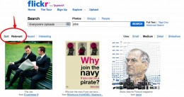 Even FLICKR uses relevant as the default search