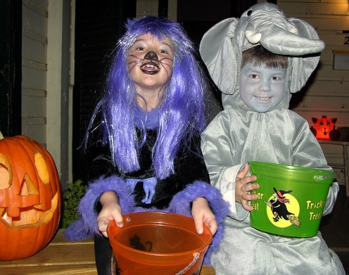 Trick or Treating can be fun and safe at the same time.