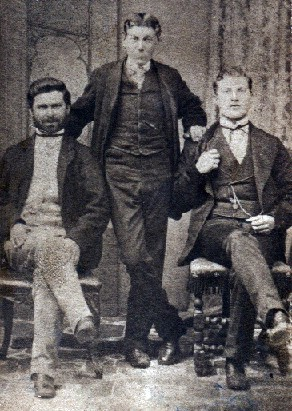 Sammy Marks, Barnet Lewis, Isaac Lewis. Image from Wikipedia