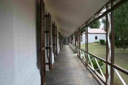 The east verandah