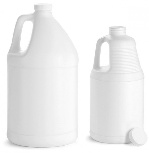 Plastic jug bottles (3)