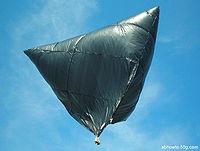 """10 foot """"tetroon"""" flying"""