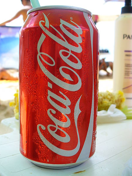 Iced Cold Coca Cola