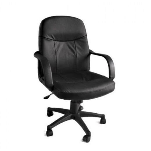 Leather office chairs designed for comfort in mind.