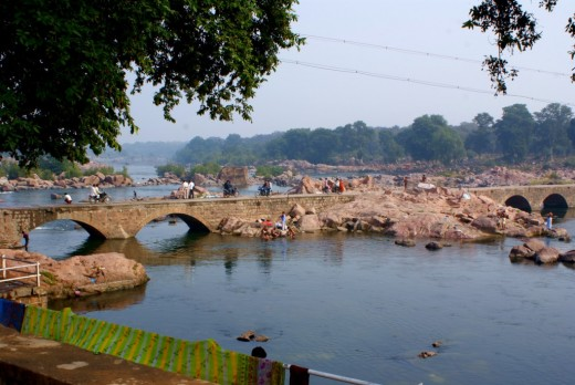 The beautiful river Betwa