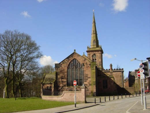 St Mary's Church, Prescot