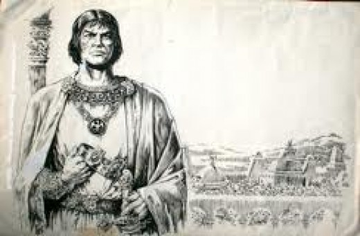 A gorgeous portrait of King Kull by Marie and John Severin