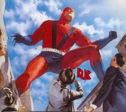 Giant Man, as seen by painter Alex Ross
