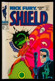 More Steranko art on SHIELD