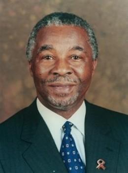 Former president Thabo Mbeki