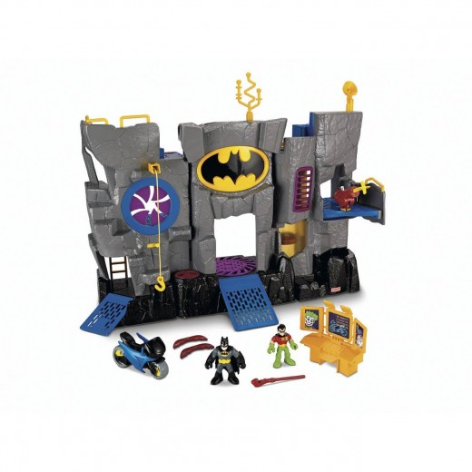 Your child will fall in love with the Imaginext Batman Batcave by Fisher-Price.