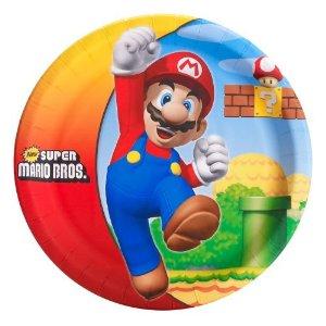 Mario Party Plates