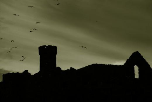Peel Castle, Isle of Man - Most Haunted
