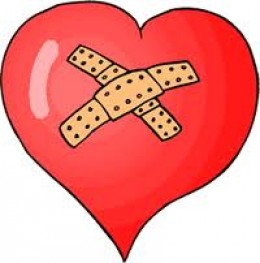 the broken heart!