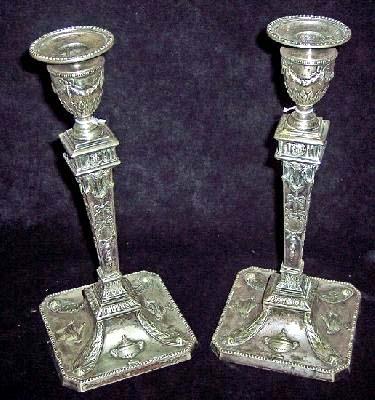 Sheffeld Candle Holders