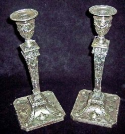 Sheffeld Candle Holders