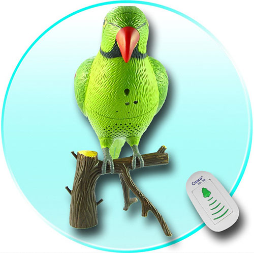Polly want a wireless doorbell?