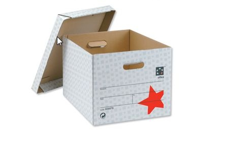 Office File Cardboard Boxes With Lid