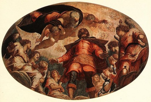 The Apotheosis of St Roch (Tintoretto)