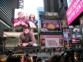 Times Square In Action