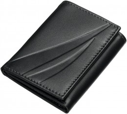 Three folded wallet