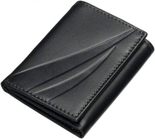 Three folded wallet