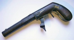 N. Kendall & Co. was famous for popularizing the underhammer percussion system and produced both rifles and pistols.