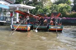 Long-tailed boats