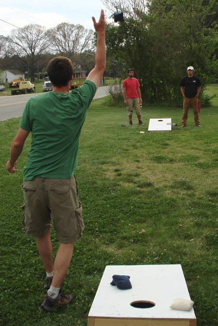 Play Cornhole at Your Tailgate Party