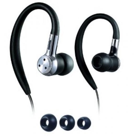 Running Headphones:  Philips Headphones, SHS 8000 Earhook Headphones