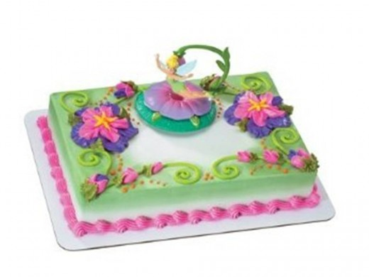 Disney Tinker Bell Dangler Cake Topper Set