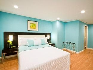 One of the suites/rooms in Astoria Plaza