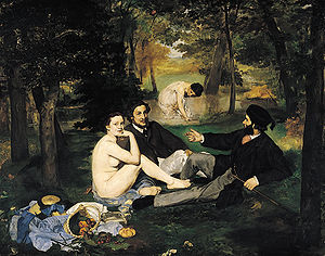 """""""Luncheon on the Grass"""" (1863)"""