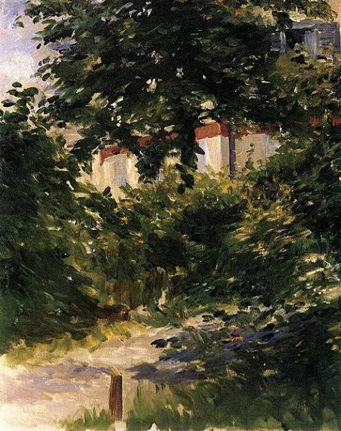 """Garden Path in Rueil"" (1882)"