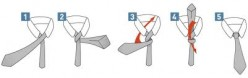 Learn How To Tie a Tie Necktie or Bow Tie Step By Step