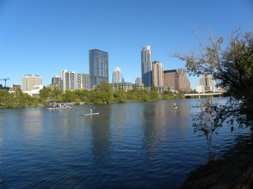Austin  TX City Skyline