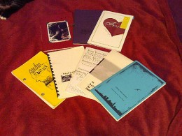 A selection of chapbook types