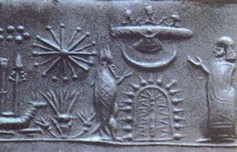 Anunnaki (Sumerian Gods) Descending from the Sky Allegedly in a Spacecraft