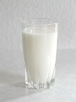 As white as milk
