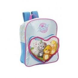 Zhu Zhu Pets Crew 14 inch Backpack - Pink and Blue