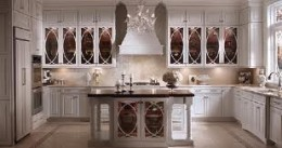 Hollywood Regency Kitchen by Kraftmade