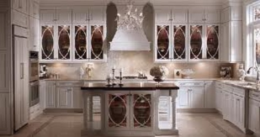 Hollywood Regency Kitchen by Kraftmade